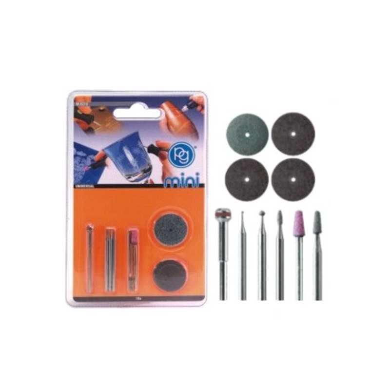 Accessori Incisione Kit pz.10 M.8210 Pg
