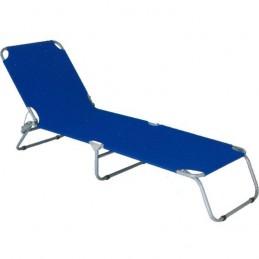 Lettino Acciaio Confort Blu...