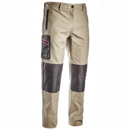 Pantalone Cotone Beige L...