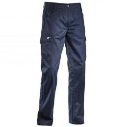 Pantalone Cotone Blu L...