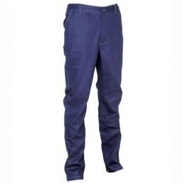 Pantalone Cotone Blu Navy...