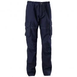 Pantalone Cotone Blu Tuareg...