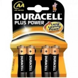 Pile Duracell-Plus Alkaline Aa
