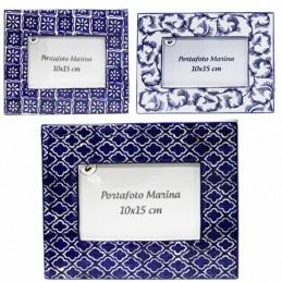 Portafoto Ceramica Marina...