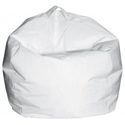 Pouf a Sacco Comodone Bianco