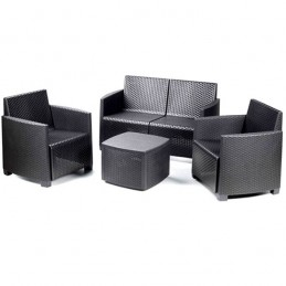 Salottino Rattan Etna Set...