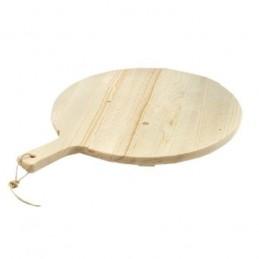 Tagliere Legno Rotondo cm 34