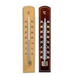 Termometro Legno Scuro Eco...