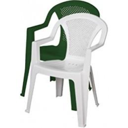 Sedia in Pp Bianco Monoblocco