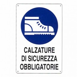 Cartello Calzature...