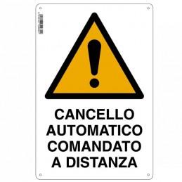 Cartello Cancello Elettrico...