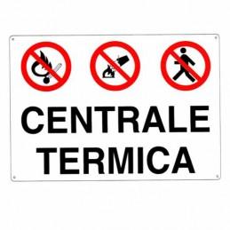 Cartello Centrale Termica...