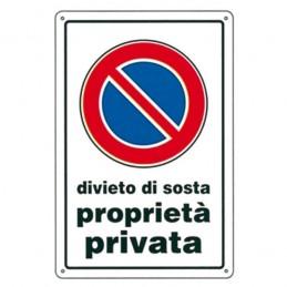 Cartello Divieto di Sosta...