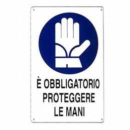 Cartello Protezione Mani...
