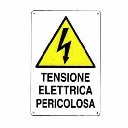 Cartello Tensione Elettrica...