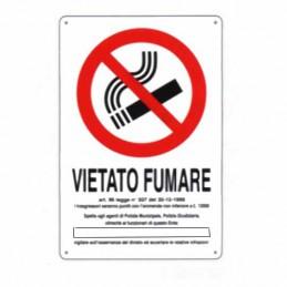Cartello Vietato Fumare Dl...