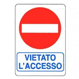 Cartello Vietato L'Accesso...