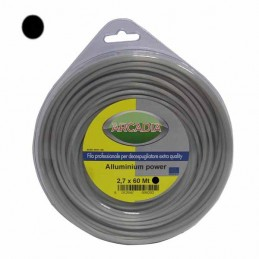 Filo Nylon Tondo Alu mm 2,4...