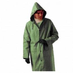 Impermeabile Cappotto Verde...