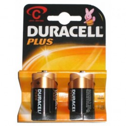 Pile Duracell-Plus Alkaline C