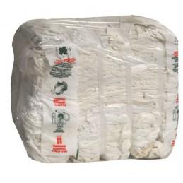 Tessuto Straccio Bianco...