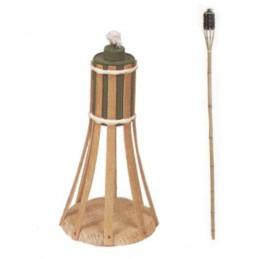 Torcia Bamboo cm 100 Vette...