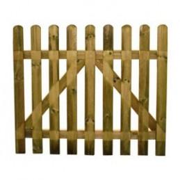 Cancello in Legno Girasole