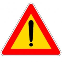 Cartello Stradale Pericolo...