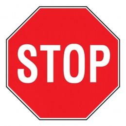 Cartello Stradale Stop